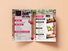 Brochure de Noel Boulangerie DAL La Bassée 59