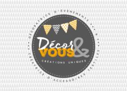 Logo Décor & Vous Décoratrice d'évènements et accessoires textiles