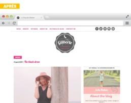 Le Blog de Gilberte by Julie