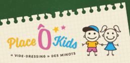 Logo Place Ô Kids Vide dressing des Minots