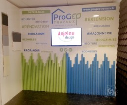 Stand commercial Progeo Travaux