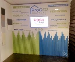 Stand commercial Progeo Travaux