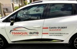 Flocage Clio Tranquil Auto