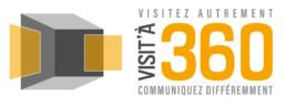 Logo Visit'à 360 - Visite virtuelle à 360 degrès